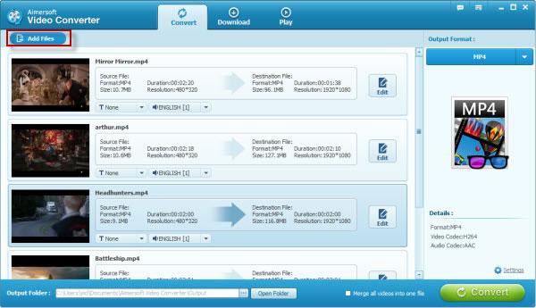 Screenshot of Video Converter