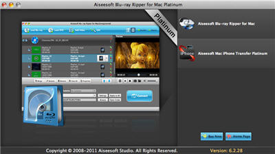 Blu-ray Ripper for Mac Screenshot