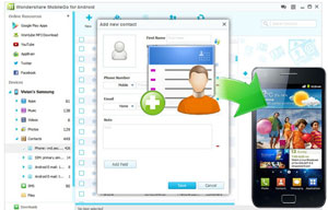 Android Contacts Manager
