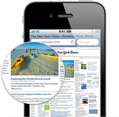 iPhone 4 High-Resolution Retina Display