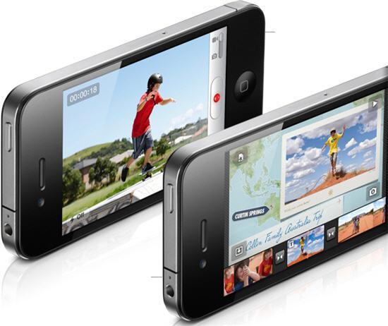 iPhone 4 5 megapixel camera