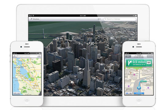 Apple iOS 6 New Maps