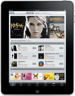 iPad Music Player