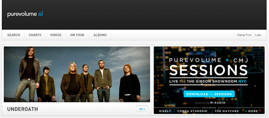 Free Music and Songs - purevolume.com