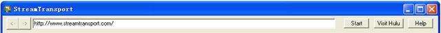Stream Video Address bar