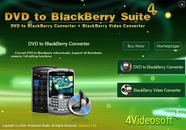 BlackBerry Converter Suite
