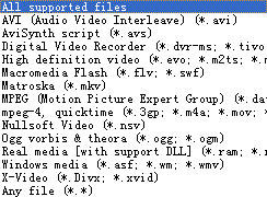 ConvertXtoDVD supports all video formats