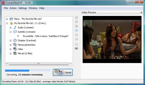 Free DVD Burning Software - ConvertXtoDVD