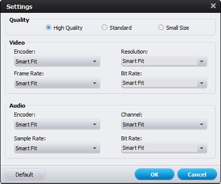Customize Video Quality