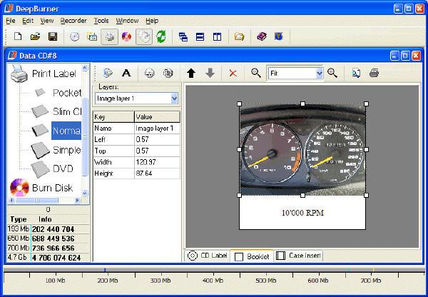 Free DVD Burning Software - DeepBurner Free Portable Version