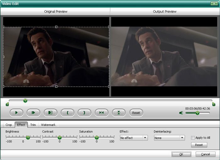 Edit Video for BlackBerry Storm