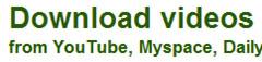 Free Online Video Downloader - Download Video