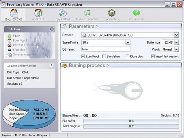 Free DVD Burning Software - Free and Easy CD & DVD Burning