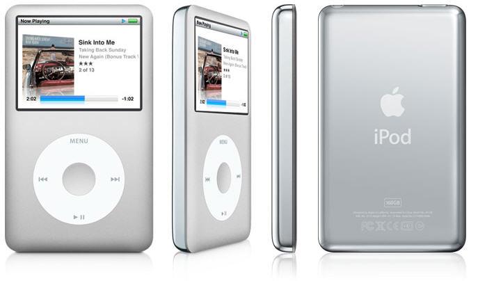iPod Classic Drop price