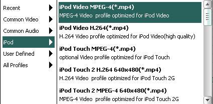 iPod format