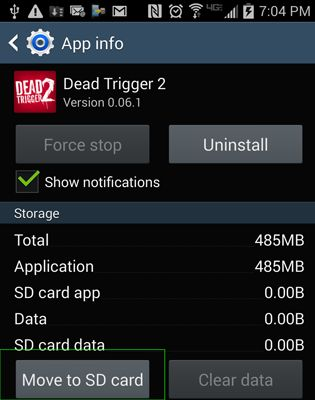 Transfer Apps from Internal Storage to SD Card 3