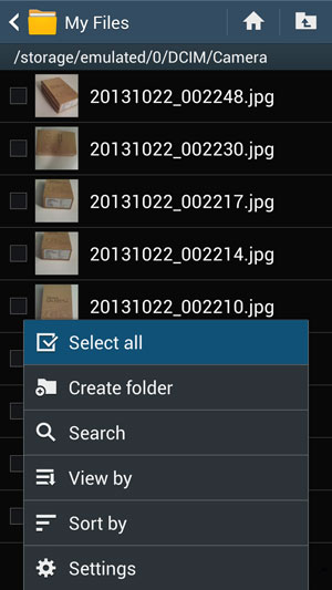 Transfer Photos from Internal Storage to SD Card 5