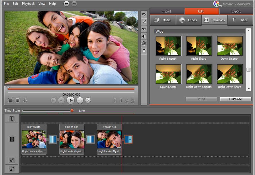 Movavi Video Editor 4 - фото 10