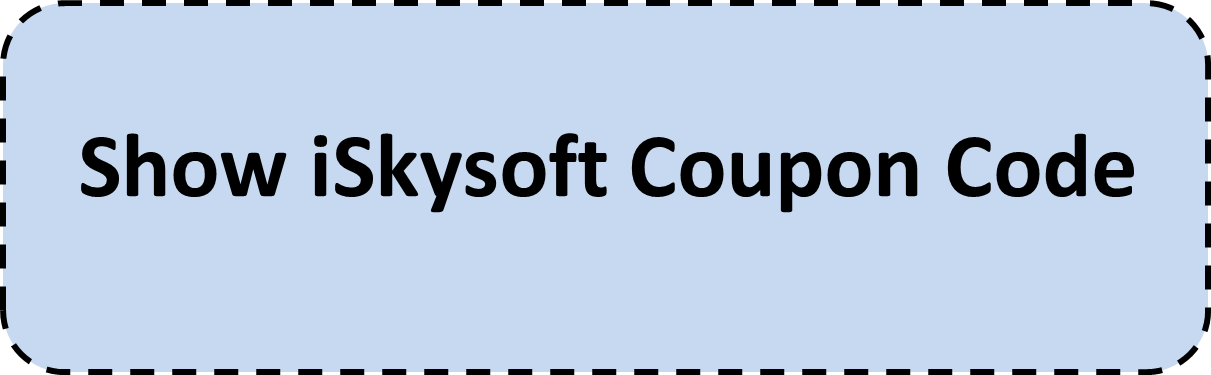 iSkysoft Coupon