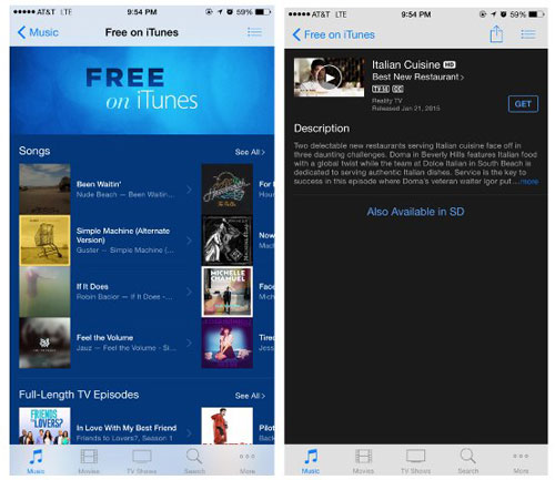 Download free music to iPhone with iTunes