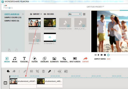 Edit face in video - import video