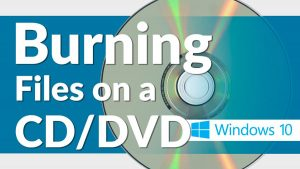 How to burn a playable DVD