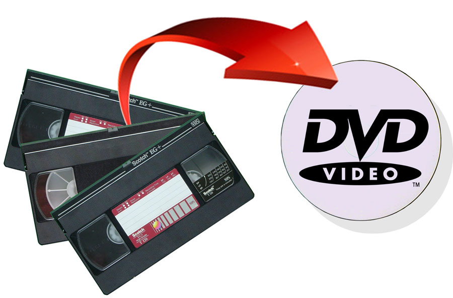 How to Convert VHS tapes to DVD and Capture VHS to Computer