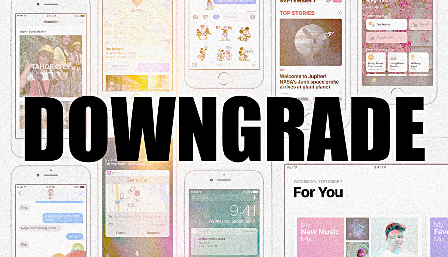 How to Update and Downgrade iPhone and iPod touch