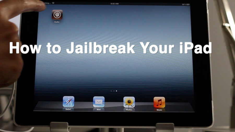How to jailbreak iPad for free and safe