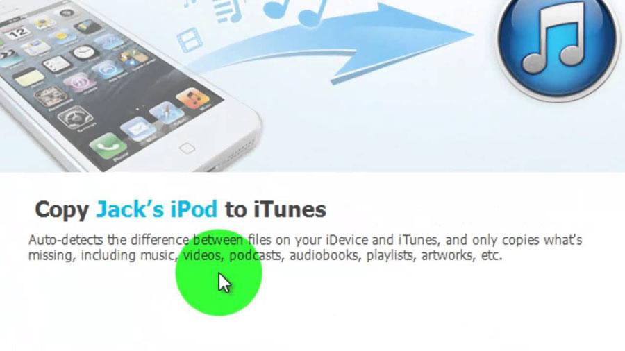 MediaWidget iPod Transfer