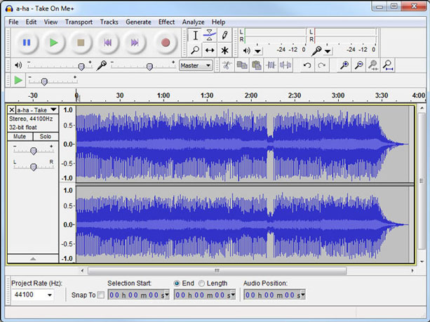 Free Voice Recording Softwar Audacity