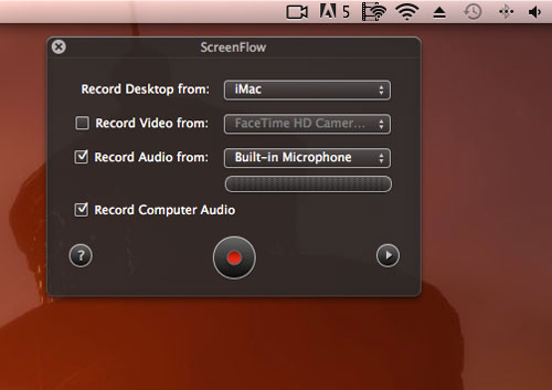guide of recording iPhone screen with screenflow