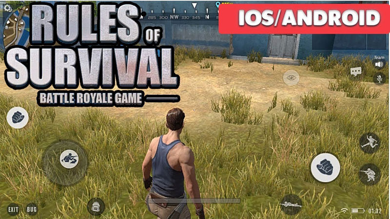 Rules of Survival PUBG Games