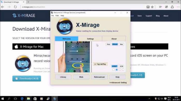 Top 8 iPhone Game Recorder - X-Mirage