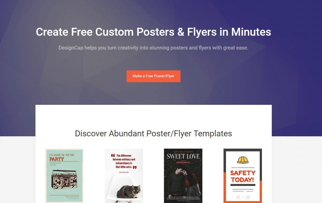 Free Online Poster Editor