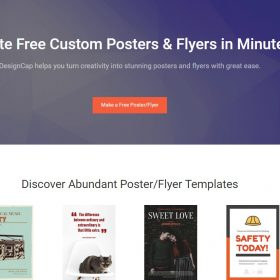 Free Online Poster Editor - DesignCap Review