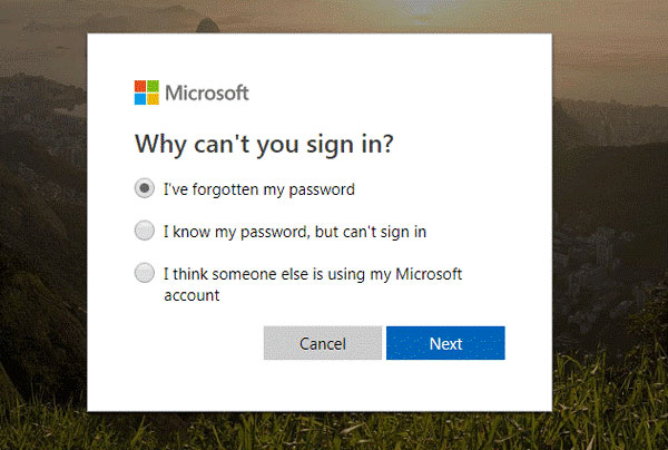 Unlock Laptop Login Problem