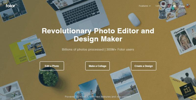 revolutionary photo editor