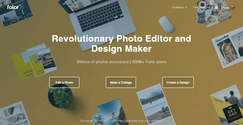revolutionary photo editor
