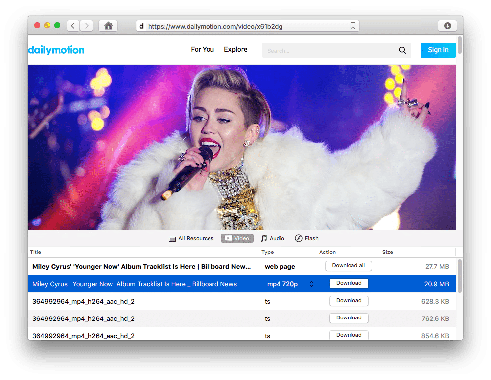 Great video downloader for Mac