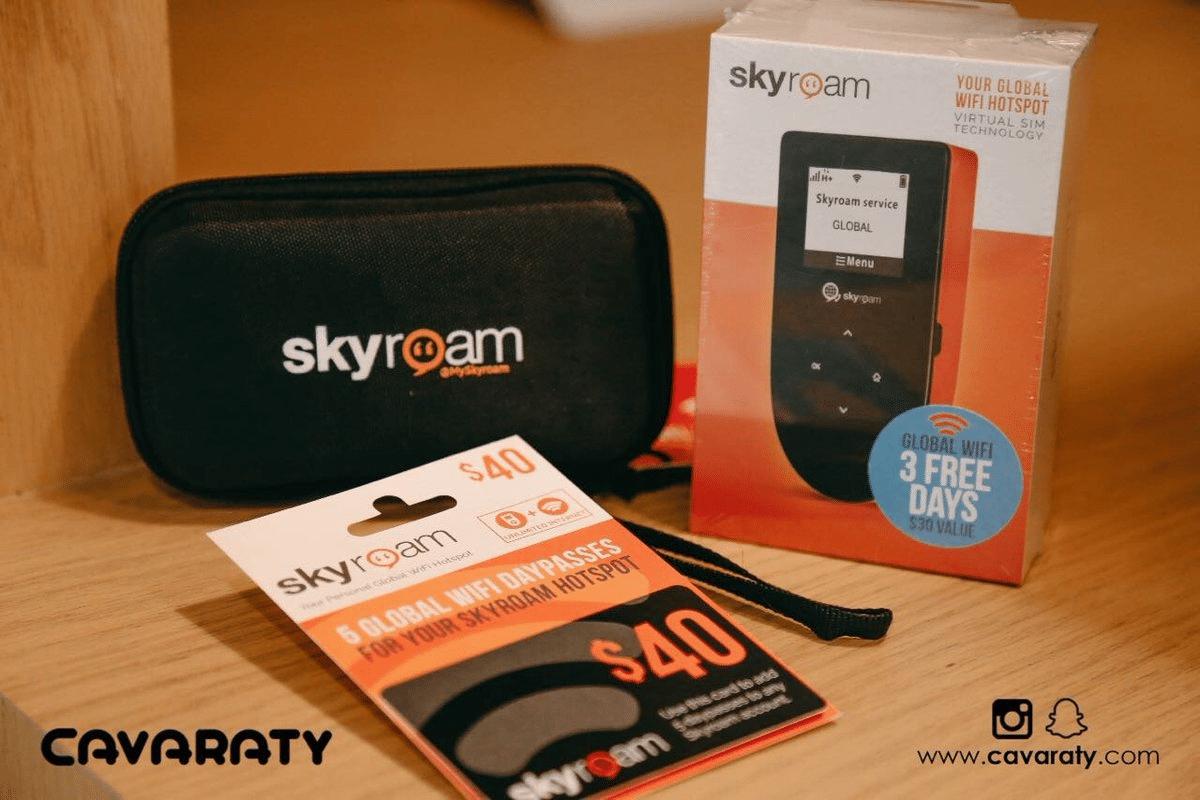 Best Travel WiFi Router – Skyroam
